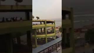 Detik Detik Tsunami Palu Yang Terekam Dari Atas Gedung Mall Pinggir Pantai