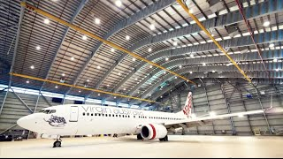 Repainting our Virgin Australia Boeing 737