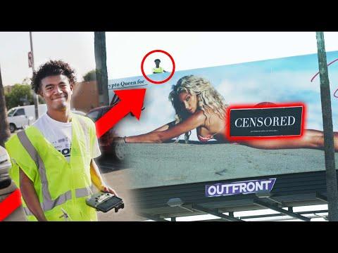 I Censored An Inappropriate Billboard
