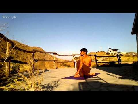 Yoga at Caucasus Wildlife Refuge