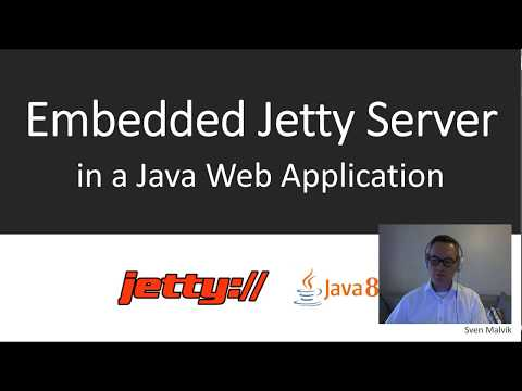 How To Setup Jetty Server In Java 8 Web Application. - State Of Software Engineering (#SOSE4)
