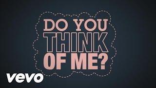 Misha B - Do You Think Of Me (Lyric Video)