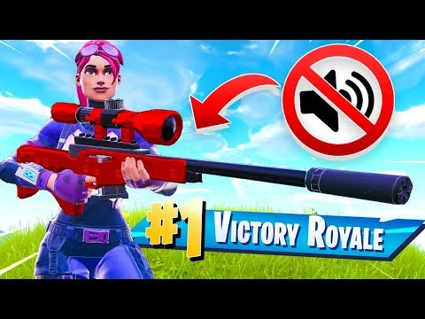 🔴 *NEW* SILENCED SNIPER in Fortnite Battle Royale thumbnail