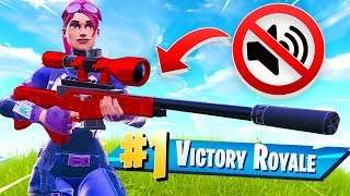 🔴 *NEW* SILENCED SNIPER in Fortnite Battle Royale