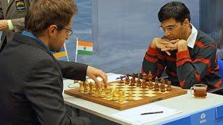 Шахматная классика. Аронян - Ананд, 2013, славянская защита