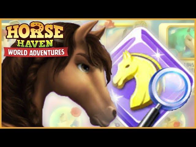 New Horse Search & Constellation Horse Awards! - Horse Haven World Adventures