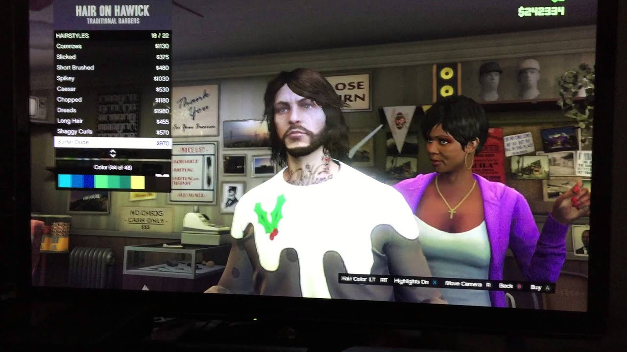 Changing my hairstyle (for Rockstar Tech Support) - YouTube