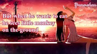 [Nightcore]Endah N Rhesa - Monkey song (lyrics)