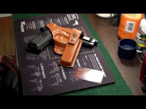 Taschen, Koffer & Hüllen Glock 43 Lederschulterholster Terrific Value Bogenschießen