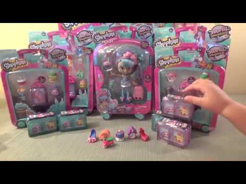 THE ULTIMATE SHOPKINS SEASON 8 TOY OPENING- SEARCHING FOR A LIMITED EDITION