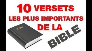 TOP 10: Les versets les plus importants de la bible screenshot 2