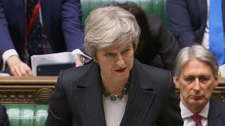 U.K.'s May Gives Statement in Parliament About Brexit Deal