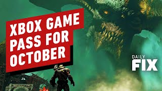 Here's What's Coming To (And Leaving) Xbox Game Pass in October - IGN Daily Fix
