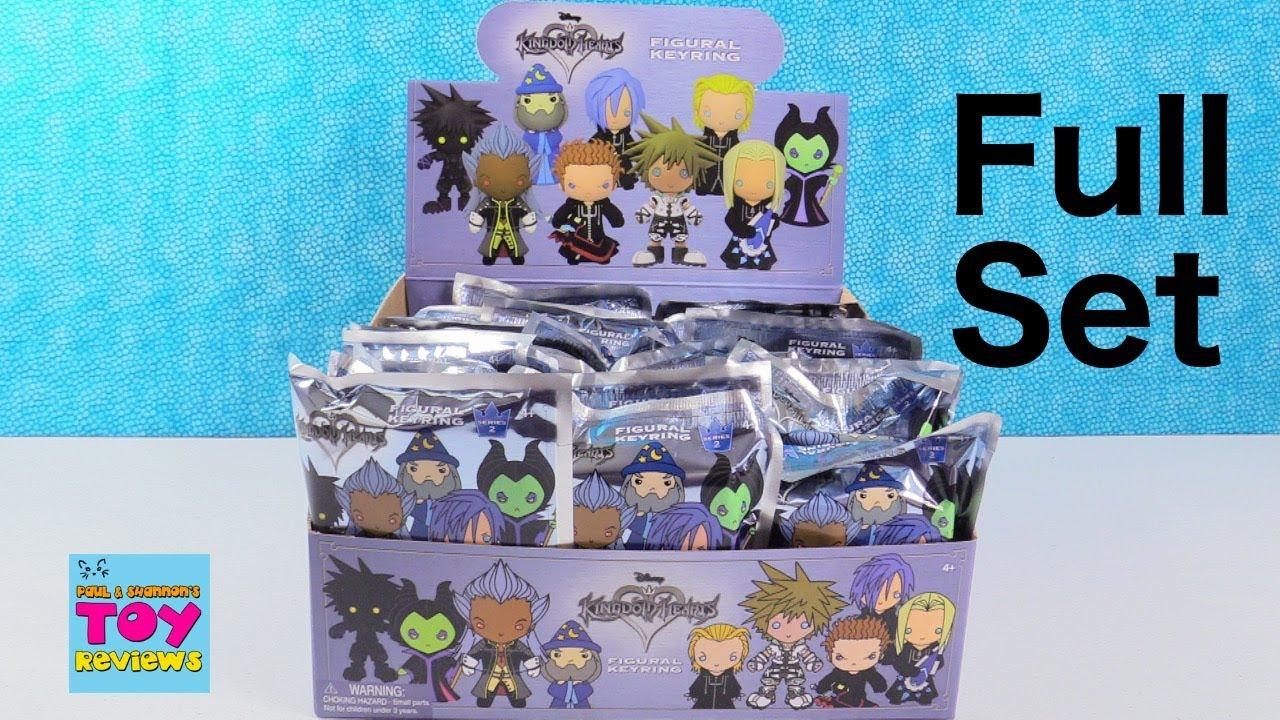 Disney Kingdom Hearts Series 2 Figural Keyring Full Box