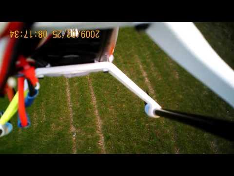28 Trex 450 lower field 24.03.11 onboard