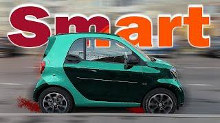Самый Маленький автомобиль | Тест-Драйв Smart Fortwo