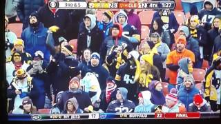 Pittsburgh Steelers react to clinching Playoffs