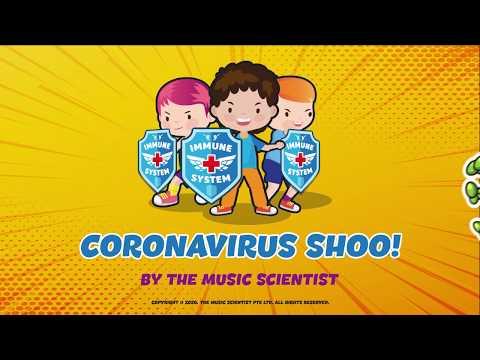 Coronavirus Song | Coronavirus Shoo! | Educational | Video & Animation | Protect against Covid - 19
