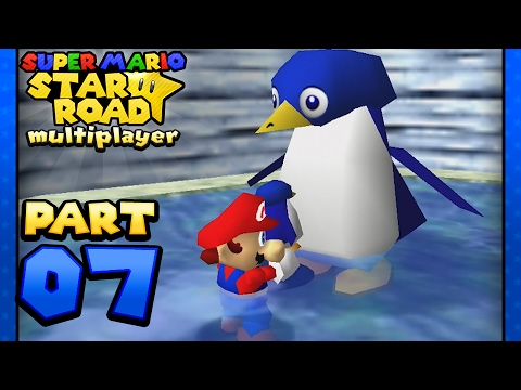 Download Super Mario Star Road: Multiplayer - Part 7: Lil' Lost Penguin's Lil' Penguin Lost! (2 Player)
