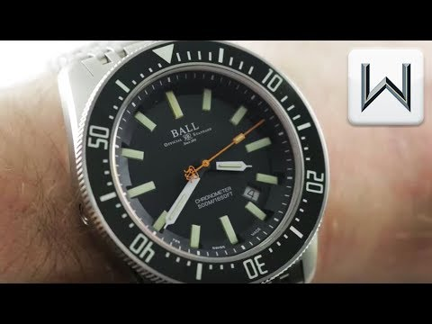 Ball Engineer Master II Skindiver II DM3108A-SCJ-BK Dive Watch Review