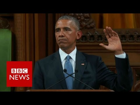 Barack Obama: Brexit frustrations 'not unique' to the UK - BBC News