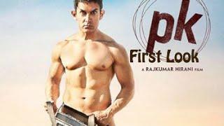 PK First Look Motion poster - Aamir Khan nude Poster - Peekay First Look Teaser