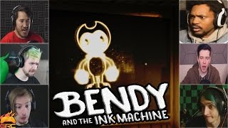 Gamers Reactions to the Animated Bendy | Bendy and The Ink Machine