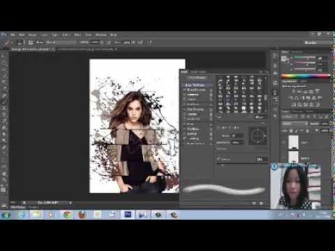 การแต่งภาพ Photoshop CS6