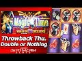 Magic Time Slot - TBT Double or Nothing, Live Play and Free Spins Bonus
