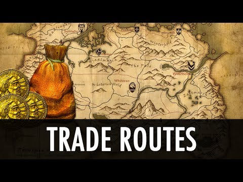 Skyrim Mod: Trade Routes