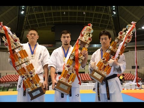 46th ALL JAPAN OPEN TOURNAMENT Kyokushin Karate IKO1 2014