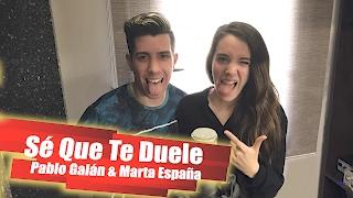 Sé Que Te Duele - Alejandro Fernández ft. Morat (Cover Pablo Galán y Marta España)
