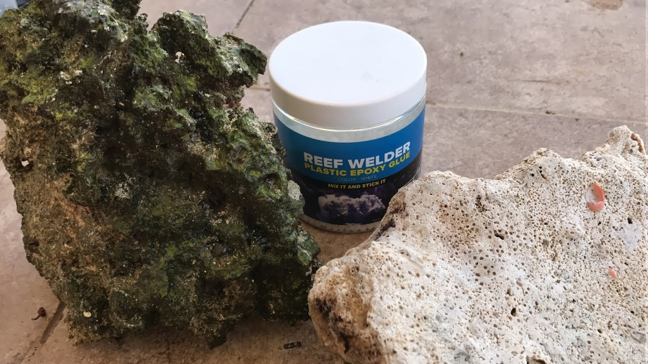How To Aquascape Your Aquarium Reef Welder Plastic Putty Epoxy