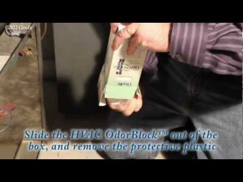 HVAC Odor Block   How To Remove Odors In The Home And Building