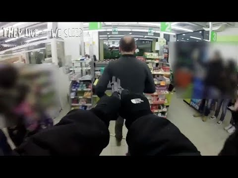 Raw Video: GoPro Filmed Robbery (with Music)