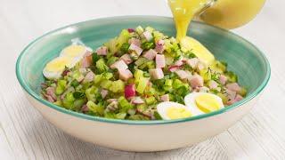 Не жалейте яичных желтков! Еще один секрет для очень вкусной ОКРОШКИ! Рецепт от Всегда Вкусно!