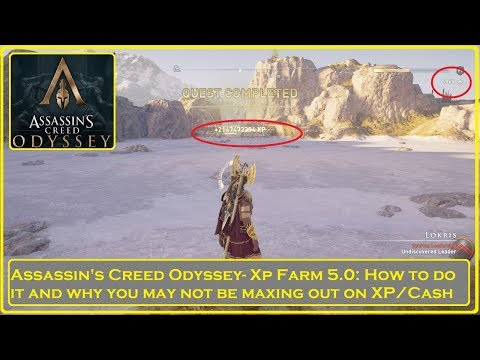 Assassin's Creed Odyssey - How To XP Farm 5.0