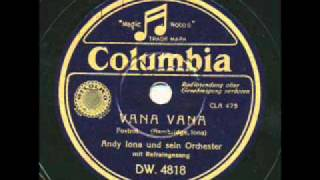 Andy Iona & his Islanders, Vana Vana. Hot Hawaiian band. 1936