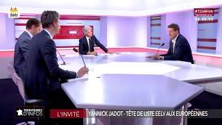 Invité : Yannick Jadot - Territoires d'infos (24/05/2019)