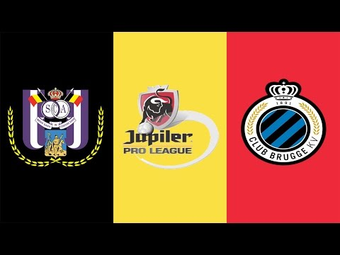 FIFA 17 - RSC ANDERLECHT VS CLUB BRUGGE GAMEPLAY - BELGIUM PRO LEAGUE