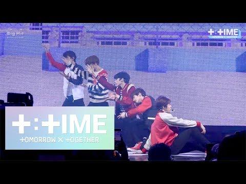 [T:TIME] '어느날 머리에서 뿔이 자랐다 (CROWN)' stage @Debut Showcase – TXT (투모로우바이투게더)