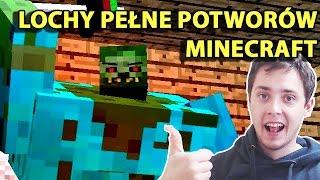 Minecraft Po Polsku Survival na Modach | LOCHY PEŁNE POTWORÓW