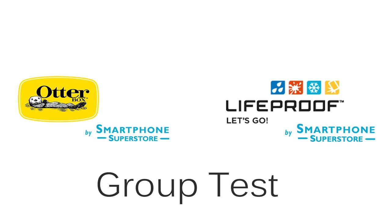 reputable site 2d25e 87f67 LifeProof v OtterBox iPhone 6 Mega Test - 1st Floor Drop & Drive Over