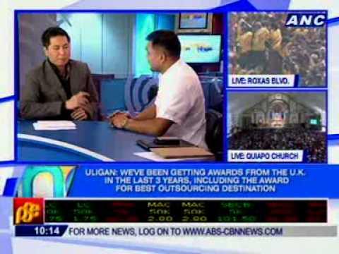 [ANC Mornings]  Jojo Uligan, Exec. Dir., Contact Center Association of the Philippines