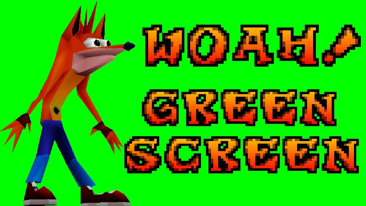 """""""Woah!"""" Green Screen 