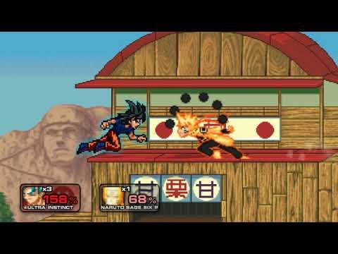 Super smash flash 1.9 blue mods goku jogo