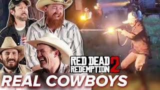 Real Cowboys Go Wild In Red Dead Redemption 2 Online • Professionals Play