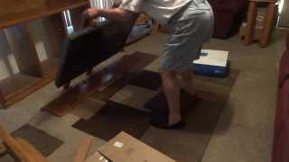 Tv Stereo Center Disassembly Step 6 : Removing Tv~pt 3 Lifting Cabinet Off Tv 253
