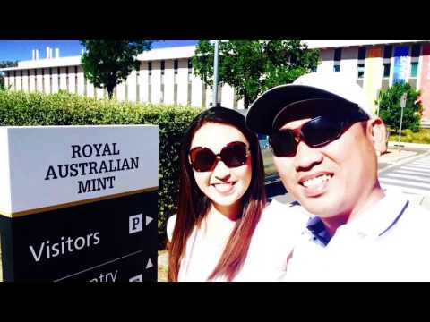 Visit to the Royal Australian Mint in Canberra, Australia