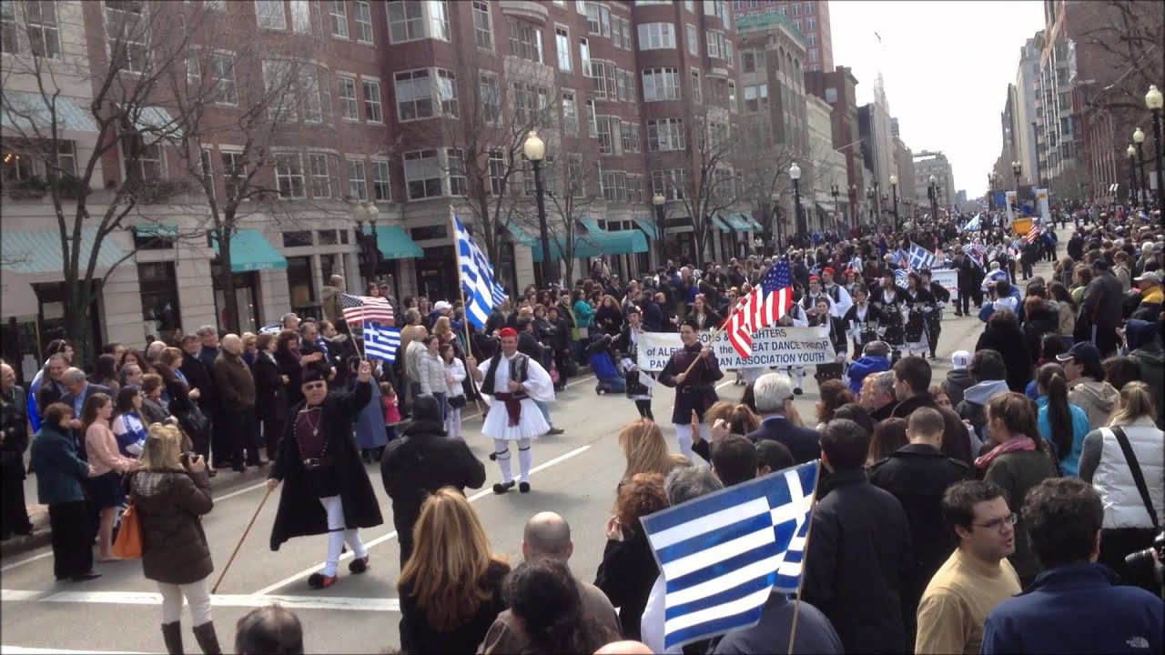 2013 BOSTON GREEK INDEPENDENCE DAY PARADE